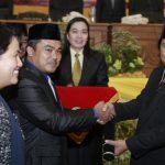 Pelantikan Ketua DPRD Kota Bontang
