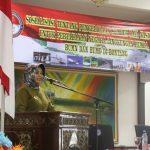 Sosialisasi Pengelolaan Sumber Daya Nasional untuk Pertahanan Negara (Walikota ; Sejengkal tanah yang ada di Indonesia harus kita pertahankan)