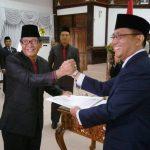 Pengambilan Sumpah dan Pelantikan Pejabat Pimpinan Tinggi Pratama di Lingkungan Pemkot Bontang