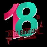 Logo HUT Kota Bontang Yang Ke-18