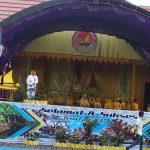 Walikota Resmi Membuka Pesta Laut Bontang Kuala.  Walikota : Kita Akan Mengadakan Kapal Wisata yang Menghubungkan Titik – Titik Wisata Kota Bontang