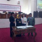 Pemkot Bontang dan DPRD Gelar Rapat Paripurna Ke-5 Masa Sidang 1 Tahun 2017