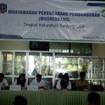 Kelurahan Tanjung Laut Gelar Musrenbang  (Safa Muha Tekankan Transparansi dan Pemutakhiran Data Kemiskinan)