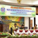 Musrenbang Bontang Utara, Ketua DPRD Tegaskan Perlunya Persamaan Persepsi Antara Musrenbang dan Pokir