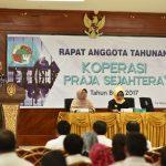 Koperasi Praja Gelar Rapat Anggota Tahunan, Kesejahteraan Jadi Perhatian