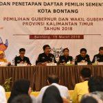 KPU Gelar Rapat Pleno Terbuka, Basri Imbau BPK, PPS dan Seluruh Stakeholder Taati Aturan Yang Berlaku