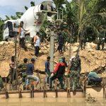 Satgas TMMD Terus Genjot Penurapan Sungai di RT 27
