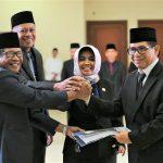 Rotasi Jabatan Kembali Digelar, Wali Kota Bontang Lantik drh. Agus Amir sebagai Pj. Sekda Kota Bontang