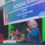 Wujudkan Kelompok Informasi Masyarakat di Kelurahan Api – Api, Diskominfo Gelar Sosialisasi