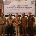 Forum Koordinasi Pejabat Pengelola Informasi dan Dokumentasi Provinsi Kalimantan Timur 2019