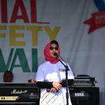 Polres Kota Bontang Gelar Millennial Road Safety Festival, Neni Harapkan Zero Laka Lantas