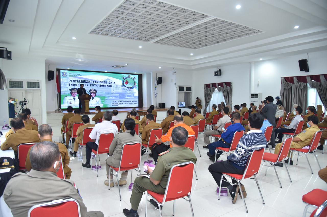 Wujudkan Keterbukaan Informasi Data, Pemkot Bontang Launching 3 Inovasi Data dan Diseminasi Satu Data Indonesia