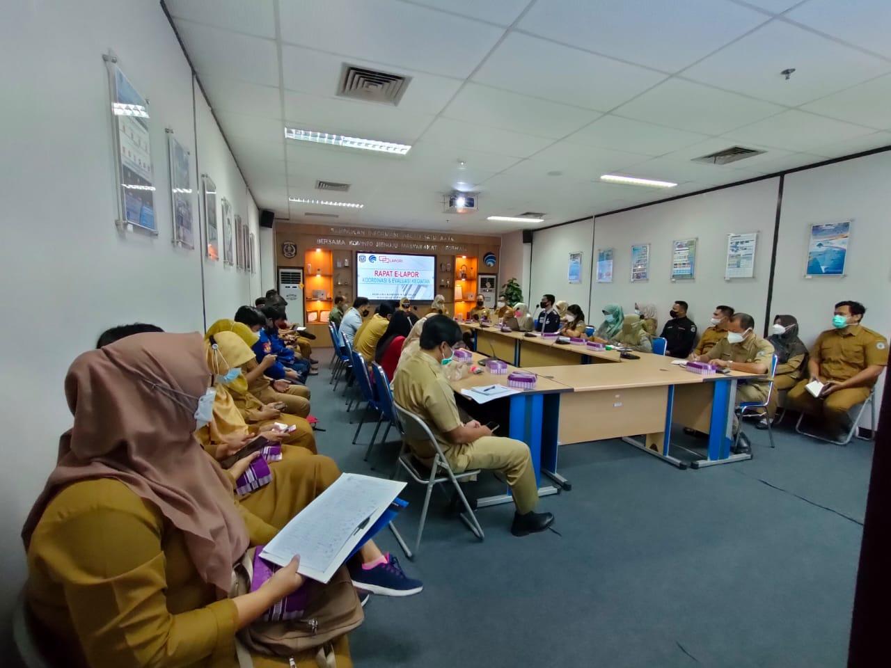 Tingkatkan Pelayanan Publik, Kominfo Gelar Rakor E-Lapor