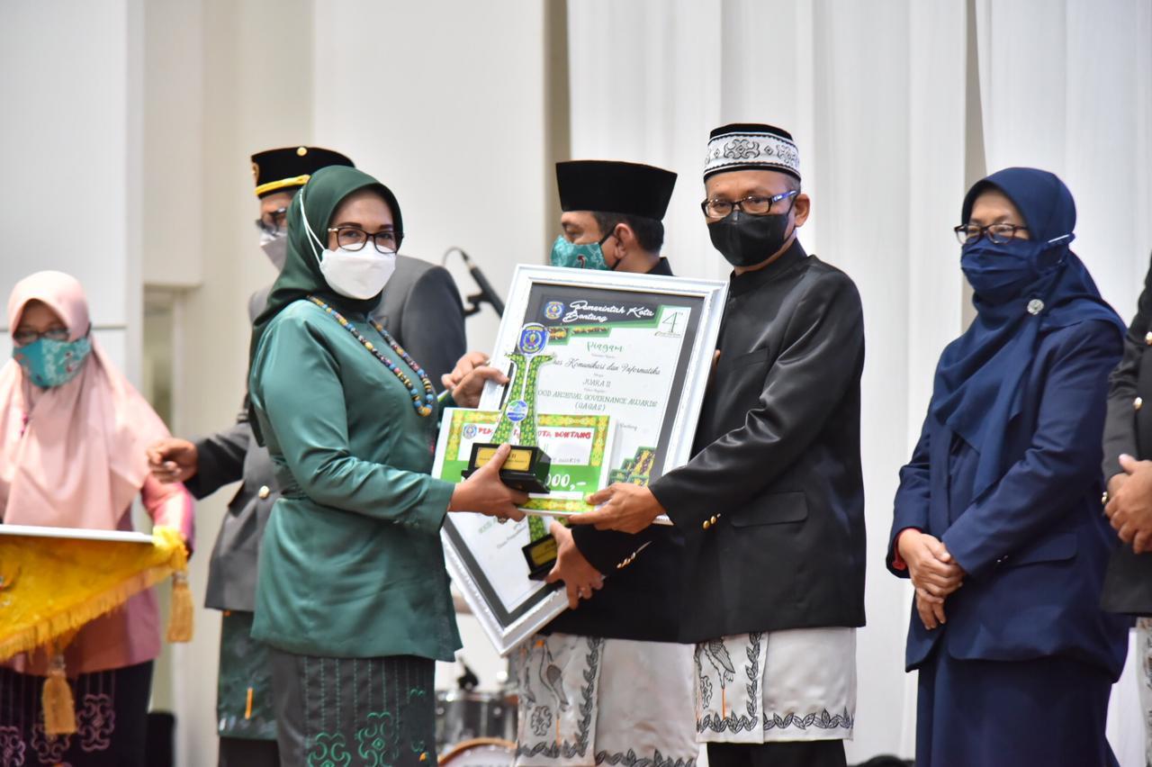 Dinas Kominfo Raih Peringkat Kedua Penghargaan GAGAS